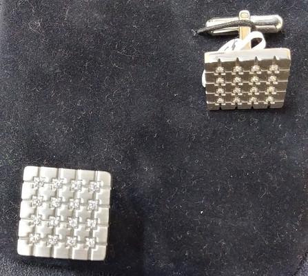 cubic cufflinks