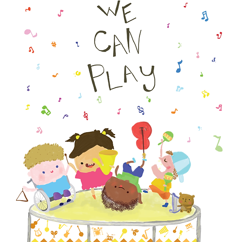 We Can Play - Physical Resource Book
