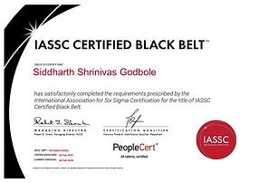 Sid Godbole - Lean Six Sigma Black Belt.