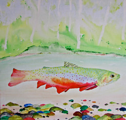 Brook Trout in Autumn