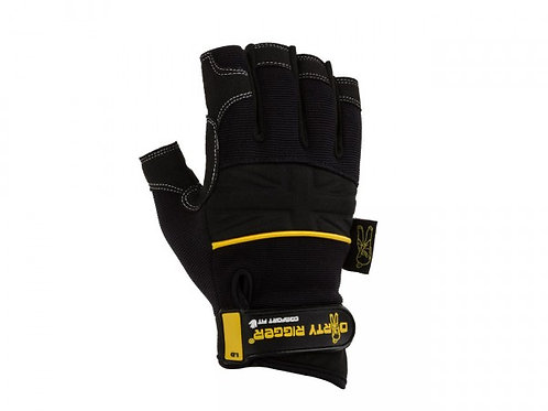 Comfort Fit Mens Fingerless Rigging / Operator Gloves