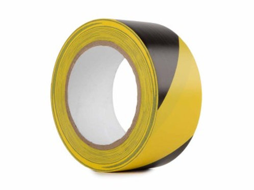 PVC Hazard Warning Tape 50mm x 33m