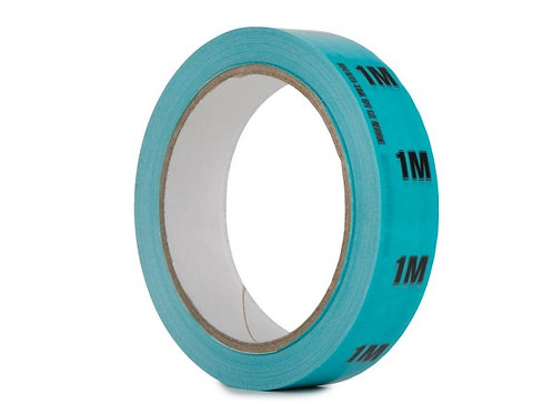 Identi-Tak Cable Length ID Tape 24mm x 33m 1M Light Blue