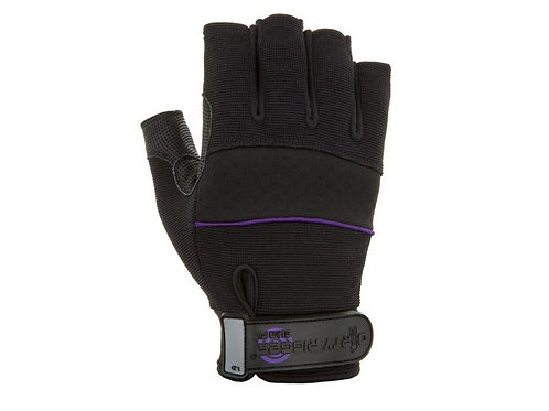 Slimfit Fingerless Rigger Gloves for Smaller Hands
