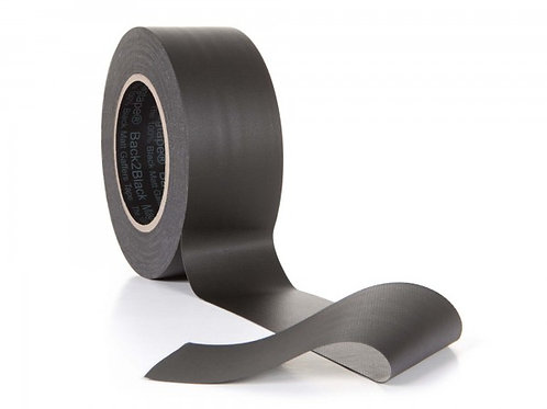 MagTape Back2Black Residue Res Blackout Gaffer 50mx50mm