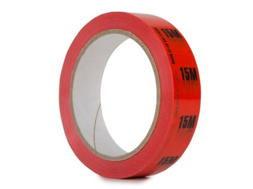 Identi-Tak Cable Length ID Tape 24mm x 33m 15M Red
