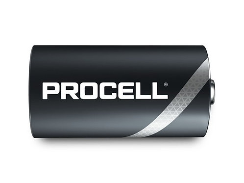 Procell Alkaline Battery Type D 1.5V / Box of 10