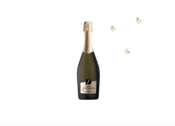 FRESCHELLO BIANCO SPUMANTE Cuvée Extra Dry, Itaalia 0,75L 10%