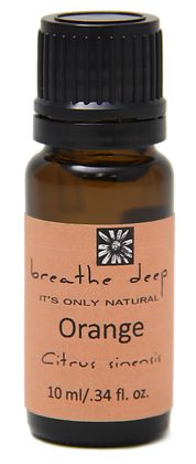 breathe deep orange essential oil