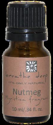 breathe deep nutmeg essential oil