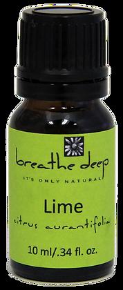 breathe deep lime essential oil