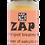zap essential oil blend roll on bottle