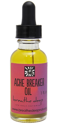 ache breaker essential oil blend dropper bottle
