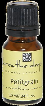 breathe deep petitgrain essential oil