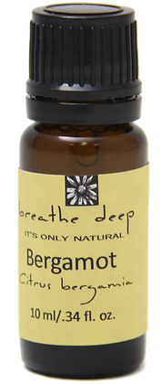 breathe deep bergamot essential oil