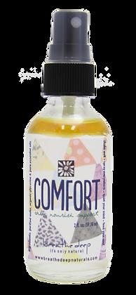 comfort essential oil blend mist bottle