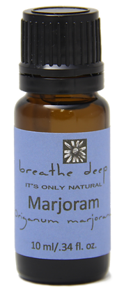 breathe deep marjoram essential oil