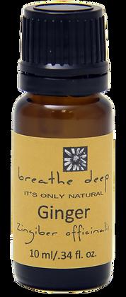 breathe deep ginger essential oil