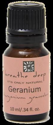 breathe deep geranium essential oil