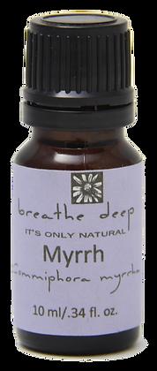 breathe deep myrrh essential oil