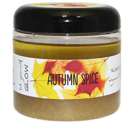 Autumn Spice Sugar Scrub