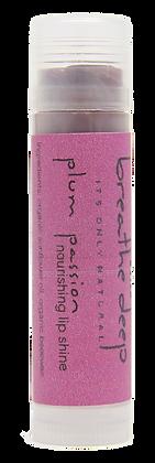 Plum Passion Colored Essential Oil Lip Shine Balm