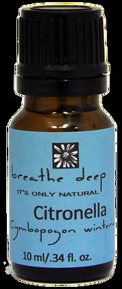 breathe deep citronella essential oil