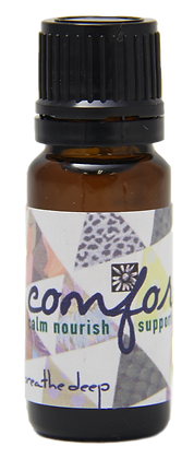 comfort essential oil blend dropper bottle