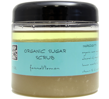 Fennel and Lemon Sugar Scrub