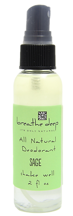 Natural Sage Essential Oil Deodorant