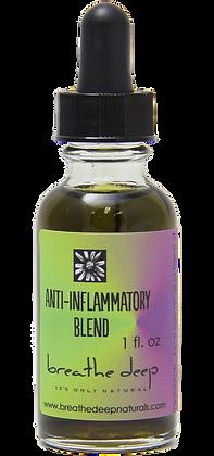 anti-inflammatory essential oil blend dropper bottle