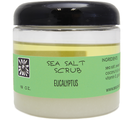 Eucalyptus Sea Salt Scrub