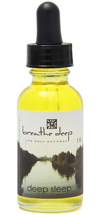 deep sleep essential oil blend dropper bottle