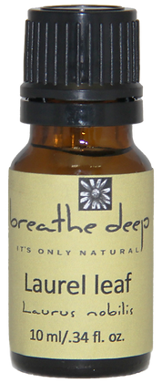 breathe deep laurel leaf essential oil