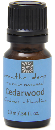 breathe deep cedarwood essential oil