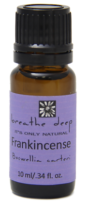 breathe deep frankincense essential oil