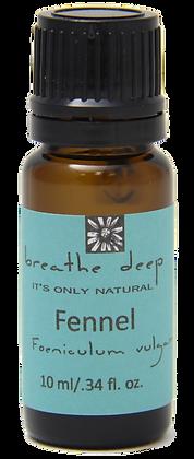 breathe deep fennel essential oil