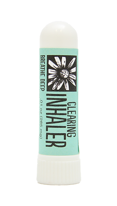 essential oil clearing inhaler