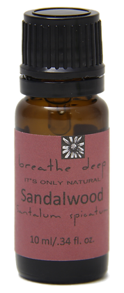 breathe deep sandalwood essential oil