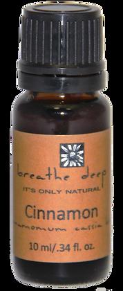 breathe deep cinnamon essential oil
