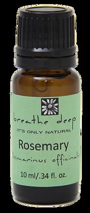breathe deep rosemary essential oil