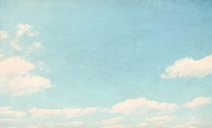 Wolken in de hemel