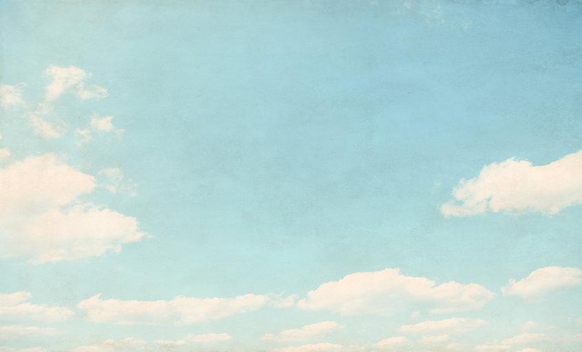 하늘에 구름