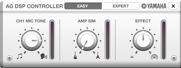 AG DSP Controller EASYモード