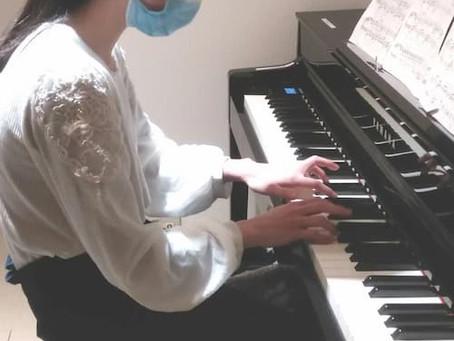 土曜日ピアノコースの様子 溝の口校