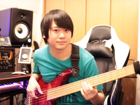 ベース教室・ベースレッスンのご紹介、川崎市高津区溝の口の音楽教室です!