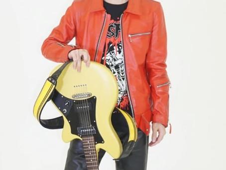 ギターオンラインレッスンに新しい講師が加わりました。エレキ、アコギどちらにも対応いたします。