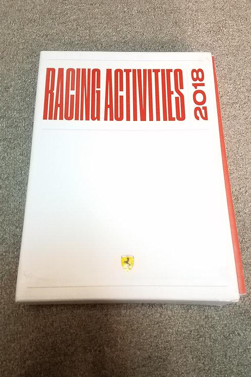 フェラーリ公式 オールカラー RACING ACTIVITIES 2018