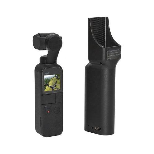 Osmo Pocket専用 5200mAh 充電式 バッテリー内蔵 手持ちスタビライザー