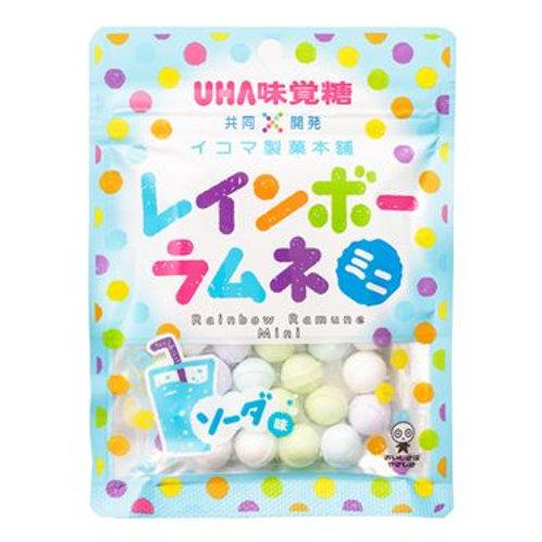 関西限定 味覚糖 レインボーラムネ ソーダ味 6Pセット